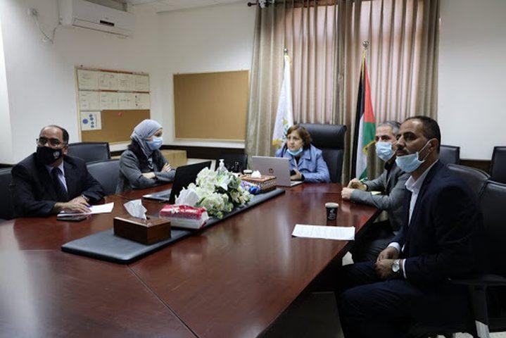 الكيلة: نسعى لإنشاء هيئة غذاء ودواء فلسطينية
