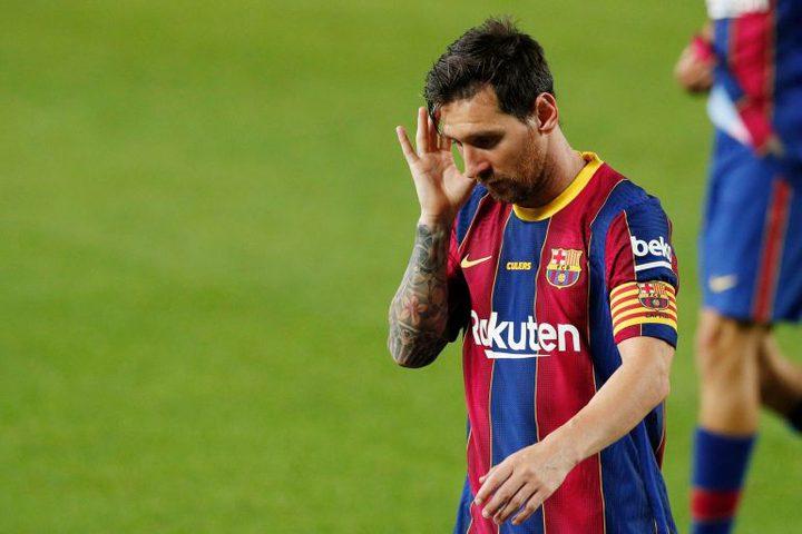 ميسي قد يرحل عن برشلونة مطلع العام المقبل