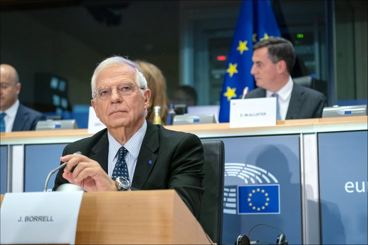 بوريل: لن يكون هناك سلام واستقرار بدون حل الدولتين