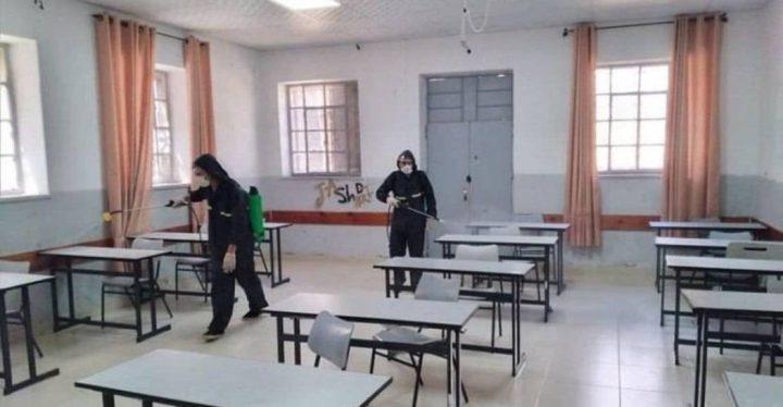 """قلقيلية: إغلاق مدرسة وشعب صفية بسبب """"كورونا"""""""