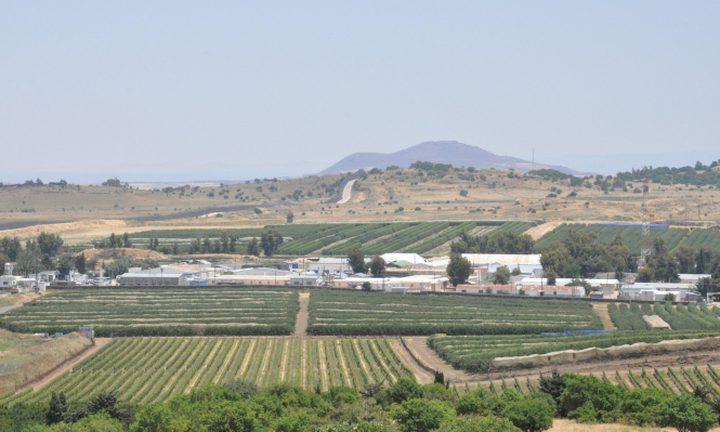 """""""إسرائيل"""" تغلق أجواء الجولان المحتل"""