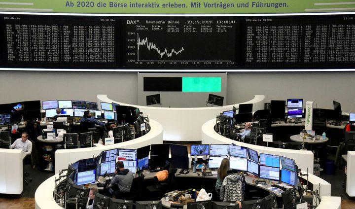 الأسهم الأوروبية تشهد صعودا في ظل تخفيف قيود كورنا