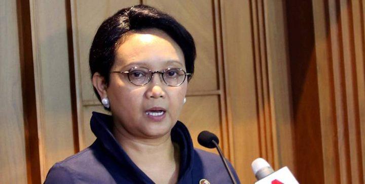 وزيرة خارجية أندونيسيا تؤكد للمالكي موقف بلادها الداعم لفلسطين