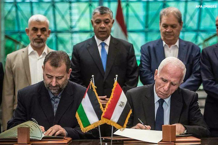 حماس: سنواصل جهودنا لتحقيق المصالحة
