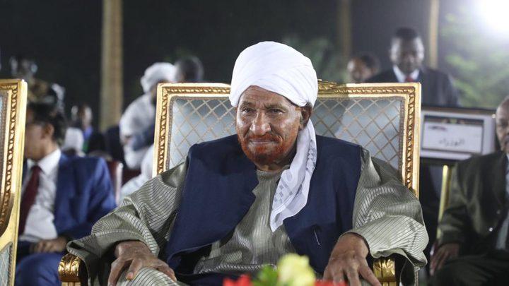وفاة رئيس وزراء السودان السابق الصادق المهدي