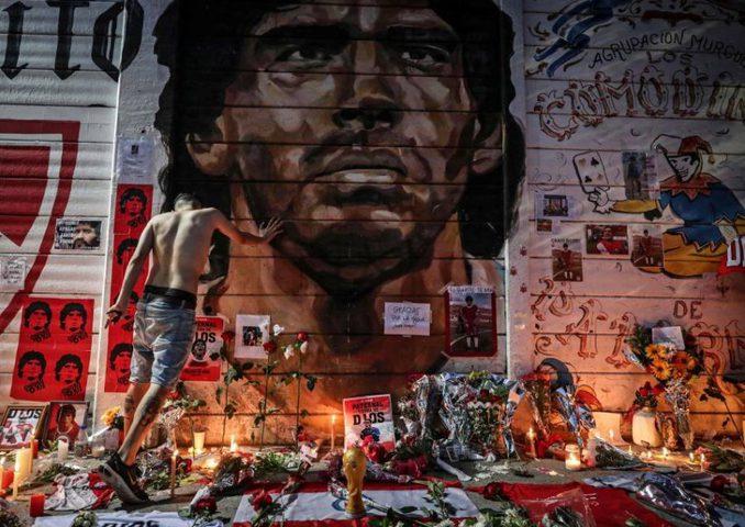 كرة القدم الأرجنتينية تعلن الحداد 7 أيام على وفاة مارادونا