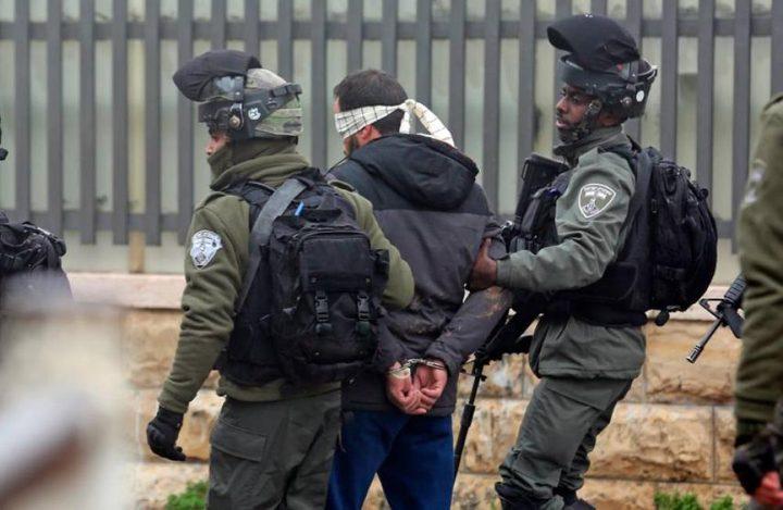 الاحتلال يعتقل 15 مواطنا من الضفة الغربية