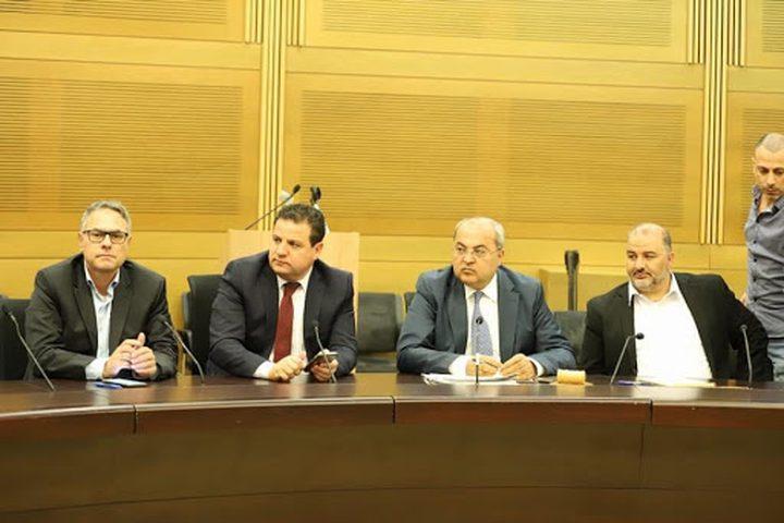 استمرار خلاف مركبات القائمة المشتركة مع النائب منصور عباس