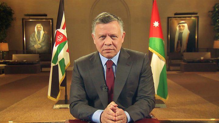 العاهل الأردني يؤكد على مركزية القضية الفلسطينية