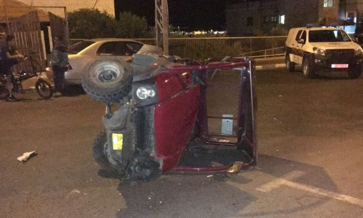 مصرع سائق دراجة نارية في حادث سير بالنقب