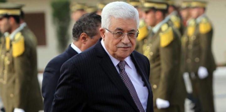 الرئيس عباس يبدأ بجولة خارجية تشمل الأردن ومصر غداً