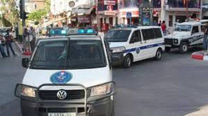 شرطة نابلستقبض على مشتبه به بتزوير مخالفة والتشهير بالأمن