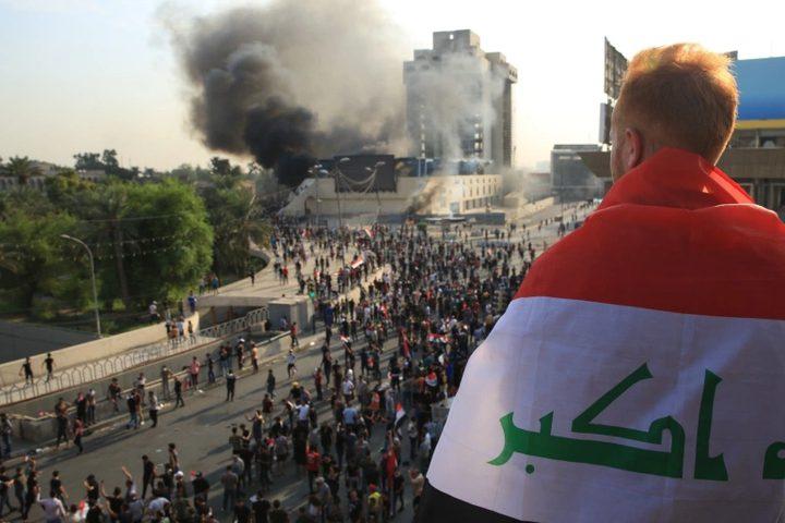 مقتل 4 أشخاص خلال هجوم لأنصار الصدر على متظاهرين في العراق
