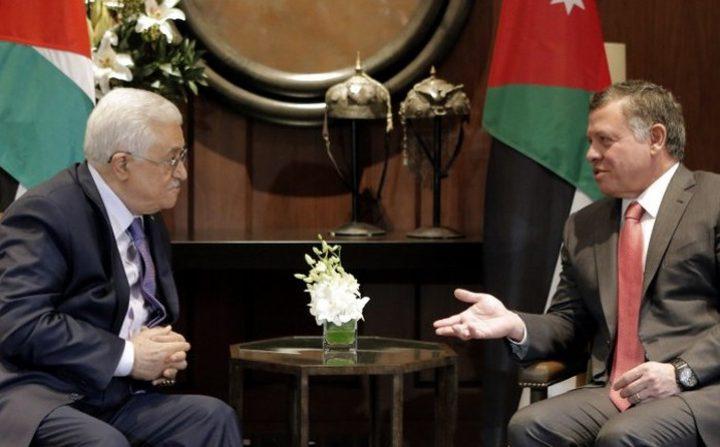 الرئيس عباس يشكر العاهل الأردني على مواقفه الداعمة لفلسطين