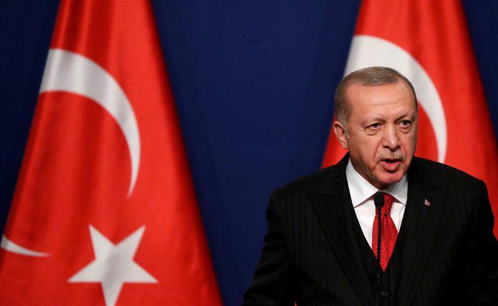 أردوغان: نسعى في كافة المحافل لاقامة دولة فلسطينية مستقلة