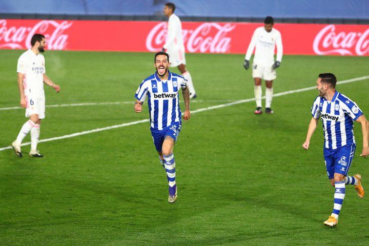 ريال مدريد يسقط أمام ضيفه ألافيس