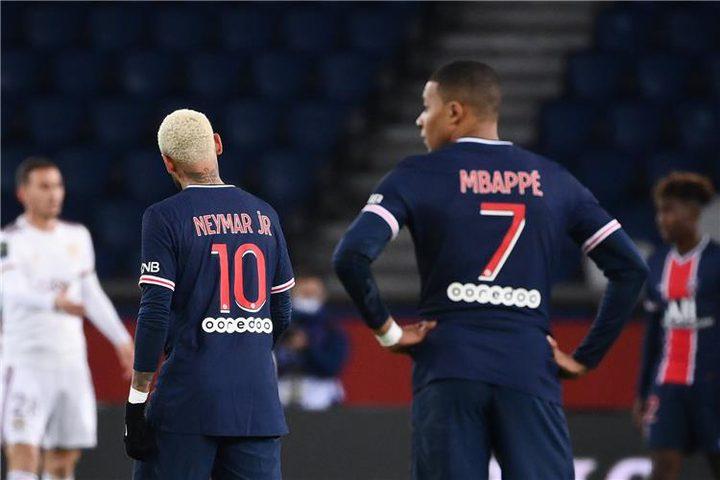 باريس سان جيرمان يتعادل أمام بوردو