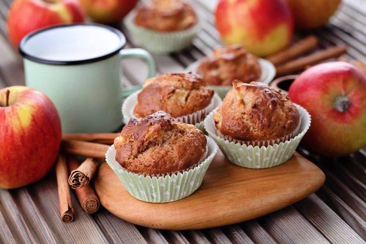 وصفة المافن بالتفاح