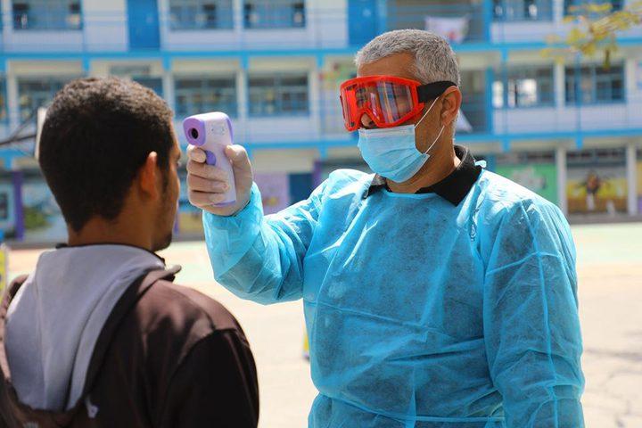 7 وفيات و738 إصابة بفيروس كورونا في غزة