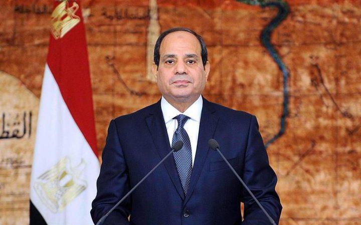 السيسي يؤكد دعم مصر الكامل للمواقف والاختيارات الفلسطينية