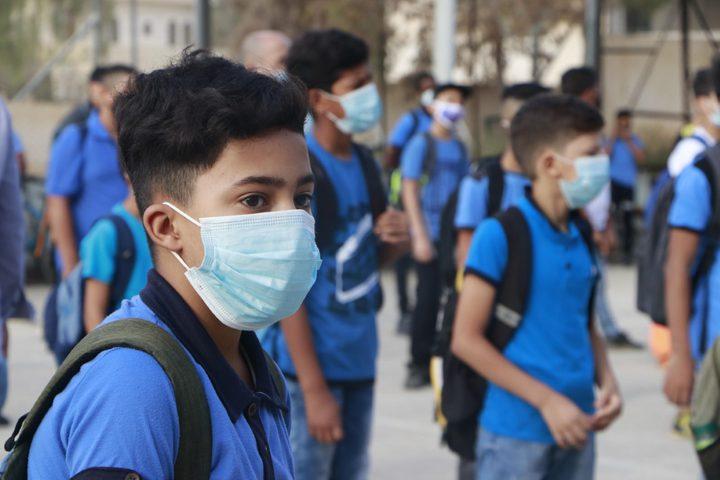 نابلس تسجل 318 اصابة بكورونا واغلاق 3 مدارس