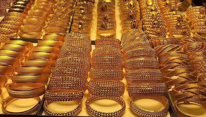 انخفاض أسعار الذهب بأسوأ مستوى منذ 4 سنوات