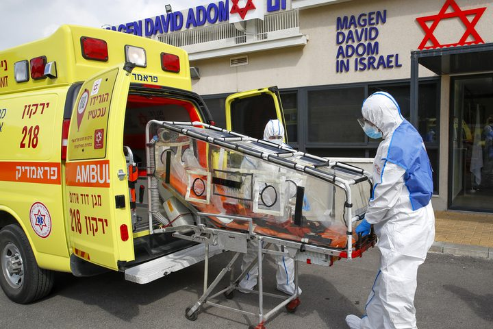 985 إصابة جديدة بكورونا في دولة الاحتلال