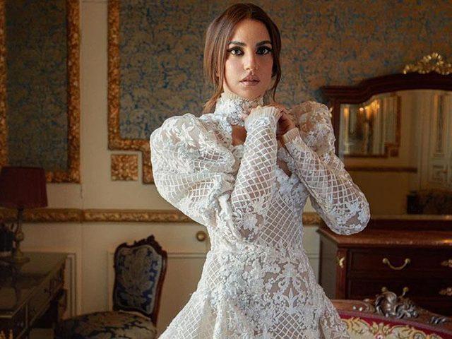 درة تنشر صورا من حفل زفافها