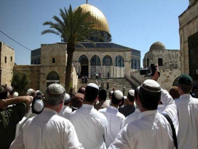 23 اقتحاما للأقصى و47 وقتا منع رفع الأذان في الحرم الابراهيمي