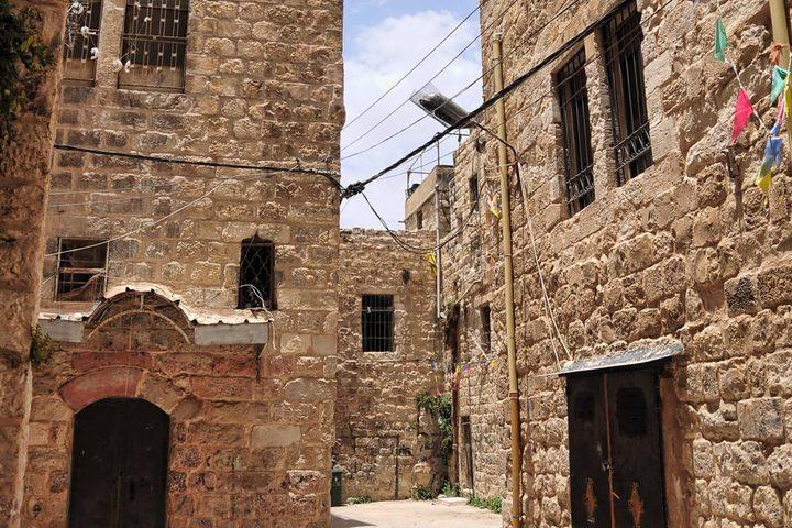 أزقة البلدة القديمة بمدينة نابلس