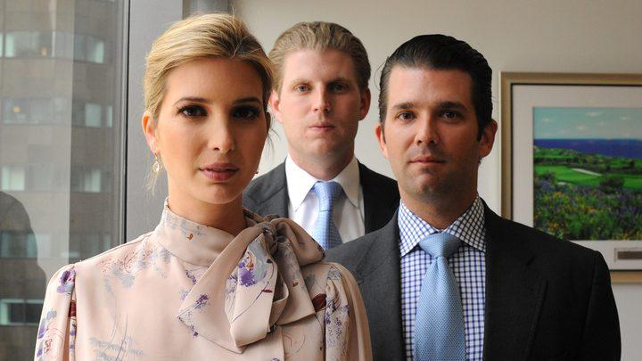 ترامب يدرس العفو عن 3 من أبنائه وصهره