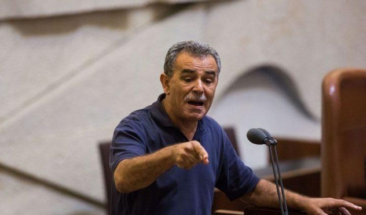 زحالقة: منصور عباس شذ عن القائمة المشتركة