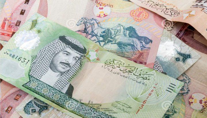 أسعار صرف العملات مقابل الدينار البحريني