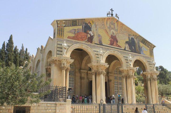 ادانات واسعة لمحاولة حرق كنيسة الجثمانية واستشهاد الطفل أبو عليا