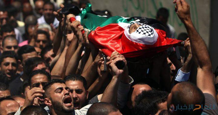 استشهاد طفل أصيب برصاص الاحتلال ظهر اليوم في بلدة المغير