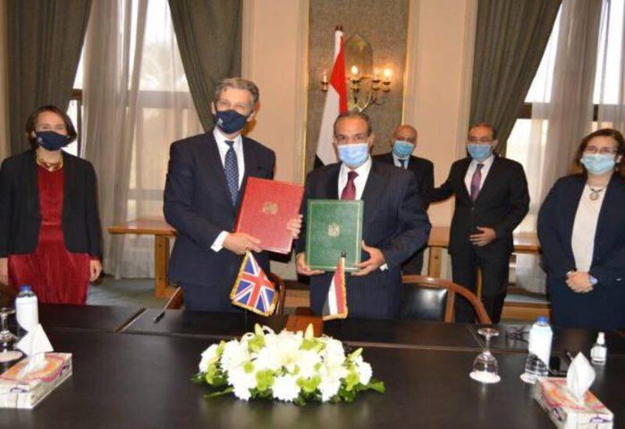 توقيع إتفاقية المشاركة المصرية البريطانية