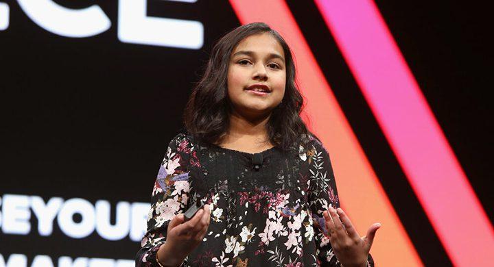 """هندية تصبح أول طفلة تنال لقب """"طفل العام"""" من مجلة """"تايم"""""""