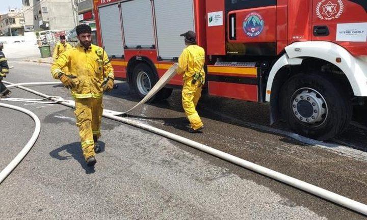 7 إصابات بينها خطيرة في احتراق منزل في سخنين