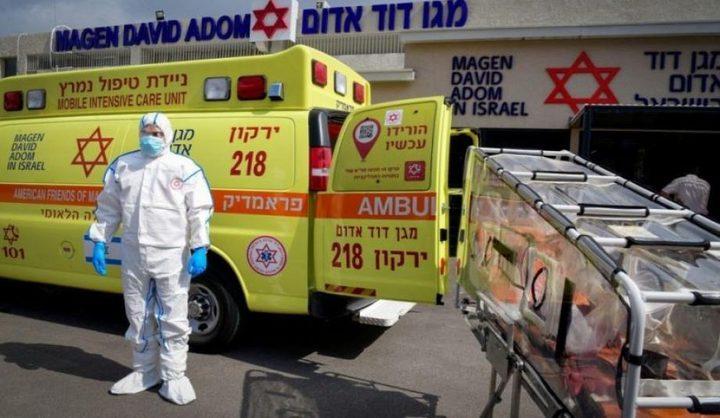 1230 إصابة جديدة بكورونا في دولة الاحتلال