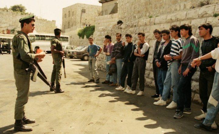 348 ألف حالة اعتقال منذ انتفاضة الحجارة
