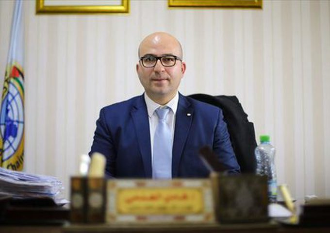الهدمي يطلع القنصل البريطاني العام على آخر التطورات في القدس