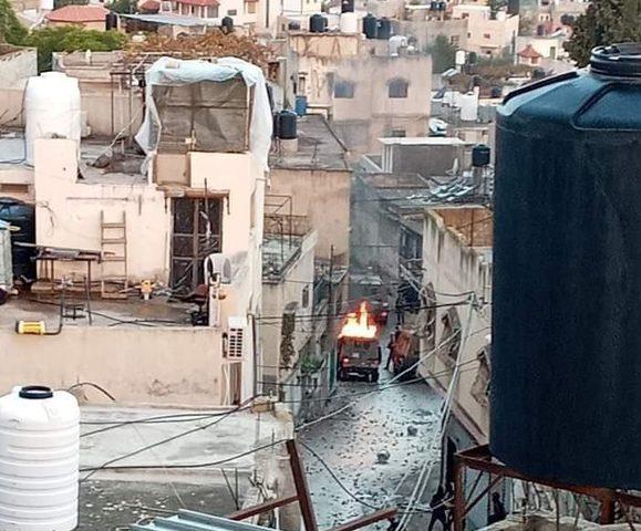 """إصابات بـ""""المطاط"""" وبالاختناق خلال مواجهات مع الاحتلال جنوب جنين"""