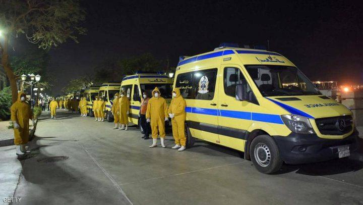 إصابات إثر اصطدام قطار بحاجز خرساني في مصر