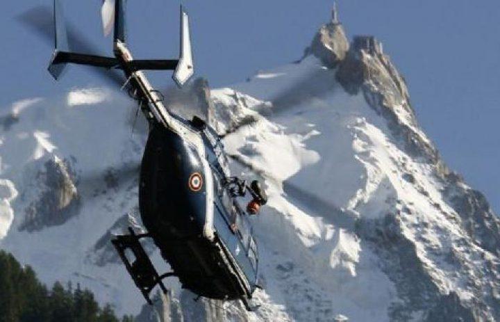 مقتل 5 أشخاص بتحطم مروحية في جبال الألب الفرنسية