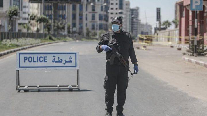 """إحصائية تراكمية لخارطة توزيع إصابات """"كورونا""""في قطاع غزة"""