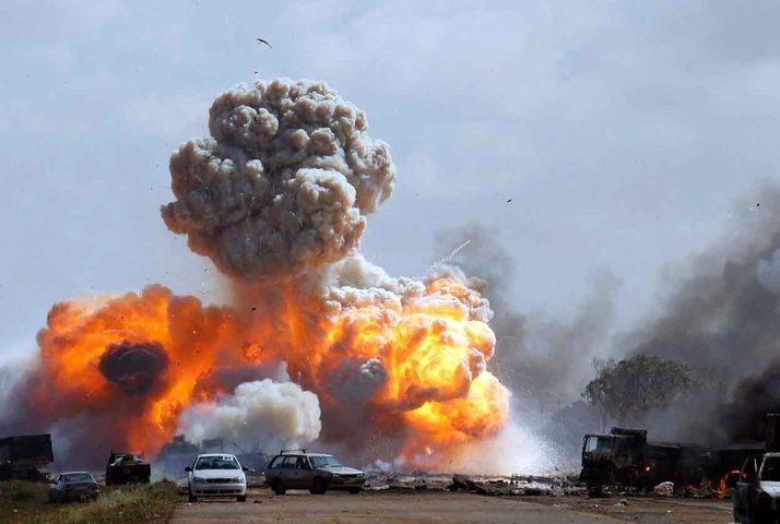 العراق:انفجار داخل مطار بغداد الدولي