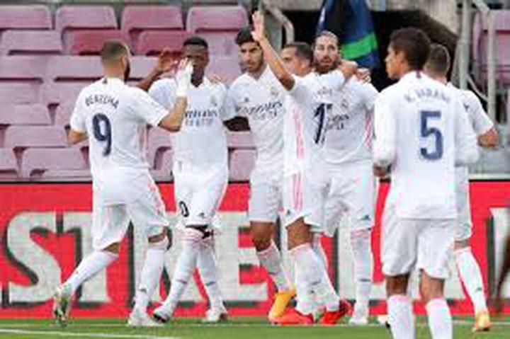 ديربي مدريد ينتهي بفوز الريال على الأتلتيكو بهدفين نظيفين