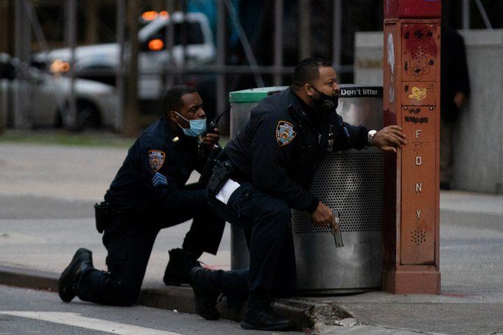 الشرطة الأمريكية تقتل مسلح أطلق النار أمام كاتدرائية في نيويورك