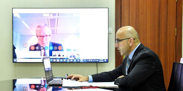افتتاح أعمال اللجنة الفلسطينية الأوروبية المشتركة