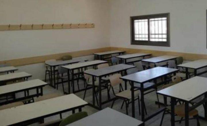 اغلاق مدرسة غرب سلفيت 14 يوما بسبب كورونا